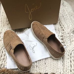 Joie - Suede Slip-On Sneakers - LIKE NEW!!